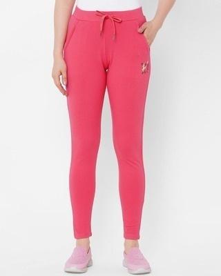 Shop Sweet Dreams Pink Solid Pyjama-Front
