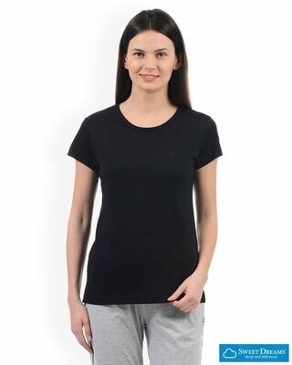 Shop Sweet Dreams Womens Classic Nightwear T-shirt Round Neck-Front