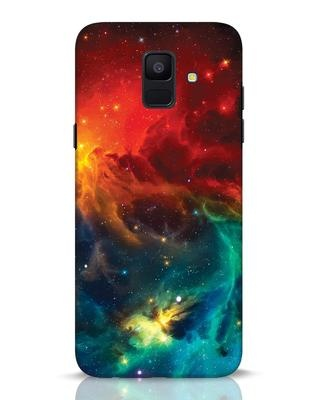 Shop Swirl Samsung Galaxy A6 2018 Mobile Cover-Front