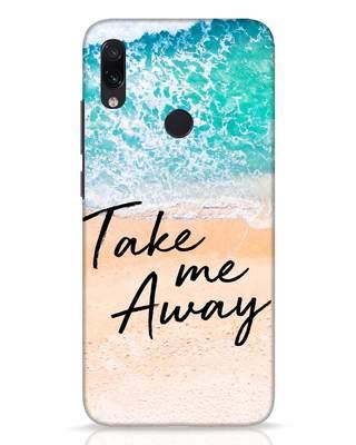 Shop Take Me Away Xiaomi Redmi Note 7 Pro Mobile Cover-Front