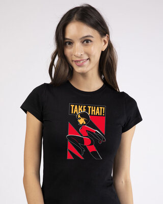 Shop Take The Kick Half Sleeve T-Shirt (DL)-Front