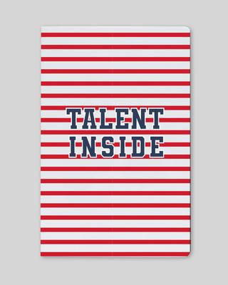 Shop Talent Inside Notebook-Front