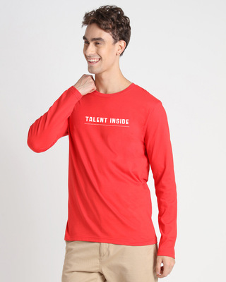 Shop Talent Ruined My Life Full Sleeve T-Shirt-Front