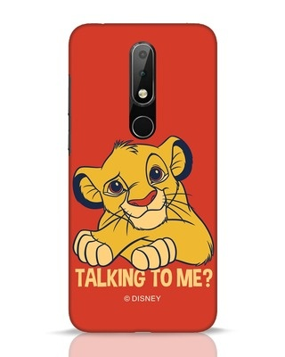 Shop Talking To Me Nokia 6.1 Plus Mobile Cover-Front