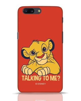 Shop Talking To Me OnePlus 5 Mobile Cover-Front