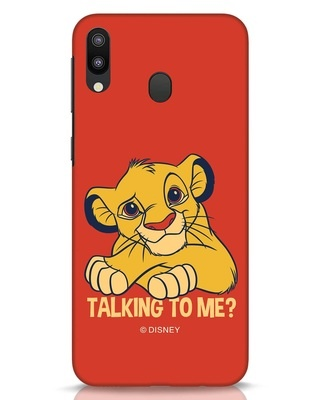 Shop Talking To Me Samsung Galaxy M20 Mobile Cover-Front