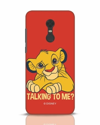 Shop Talking To Me Xiaomi Redmi Note 5 Mobile Cover-Front
