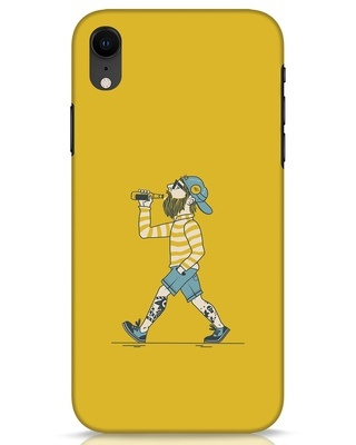 Shop Talli Boy iPhone XR Mobile Cover-Front