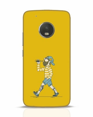 Shop Talli Boy Moto G5 Plus Mobile Cover-Front