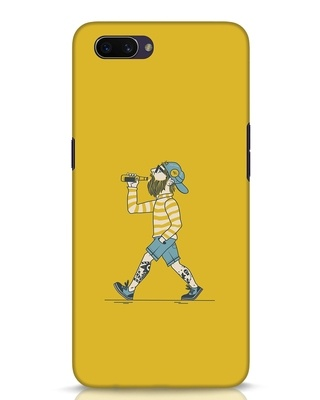 Shop Talli Boy Oppo A3S Mobile Cover-Front