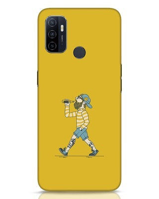 Shop Talli Boy Oppo A53 Mobile Cover-Front