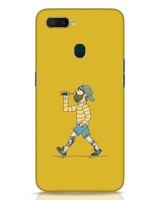Shop Talli Boy Oppo A7 Mobile Cover-Front
