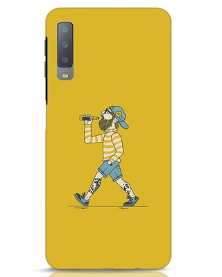 Shop Talli Boy Samsung Galaxy A7 Mobile Cover-Front