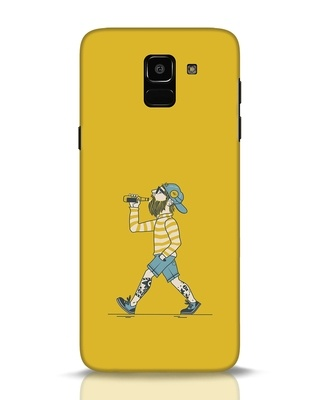 Shop Talli Boy Samsung Galaxy J6 Mobile Cover-Front