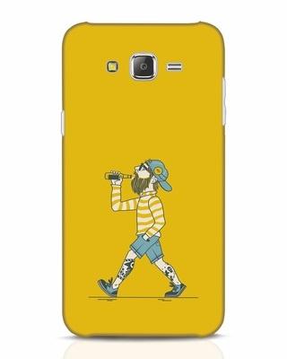 Shop Talli Boy Samsung Galaxy J7 Mobile Cover-Front