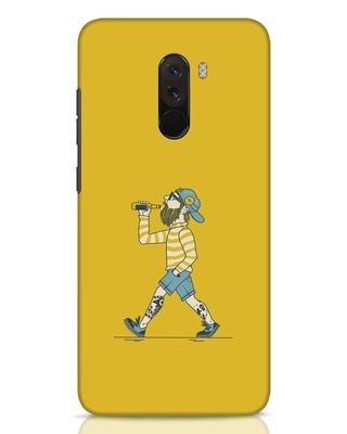 Shop Talli Boy Xiaomi POCO F1 Mobile Cover-Front