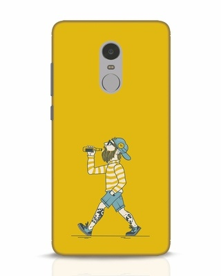 Shop Talli Boy Xiaomi Redmi Note 4 Mobile Cover-Front