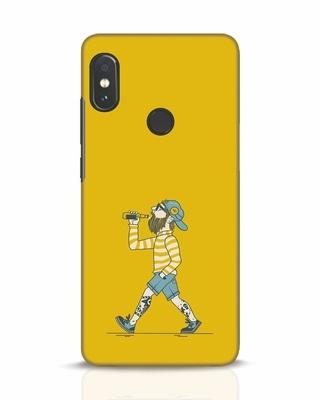 Shop Talli Boy Xiaomi Redmi Note 5 Pro Mobile Cover-Front