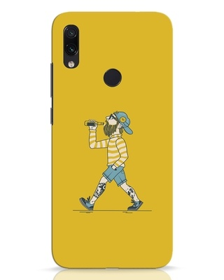 Shop Talli Boy Xiaomi Redmi Note 7 Pro Mobile Cover-Front