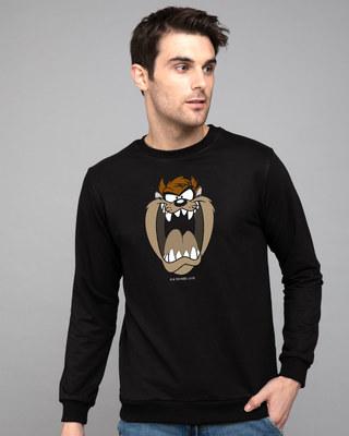 Shop Taz Fleece Sweater (LTL)-Front