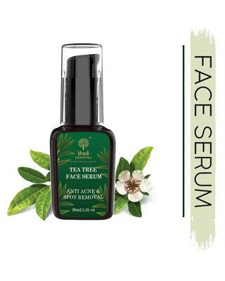 Shop Khadi Essentials Tea Tree Face Serum For Anti-Acne & Blemishes-Front
