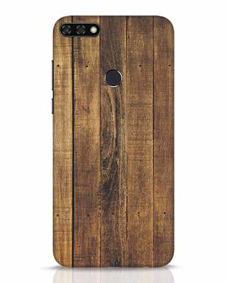Shop Teak Huawei Honor 7C Mobile Cover-Front