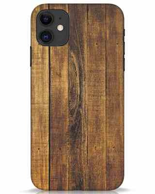Shop Teak iPhone 11 Mobile Cover-Front