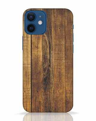 Shop Teak iPhone 12 Mini Mobile Cover-Front