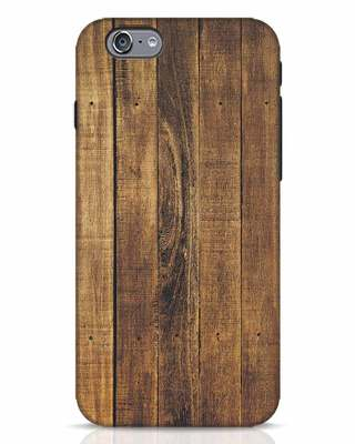 Shop Teak iPhone 6 Mobile Cover-Front