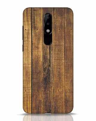 Shop Teak Nokia 5.1 Plus Mobile Cover-Front