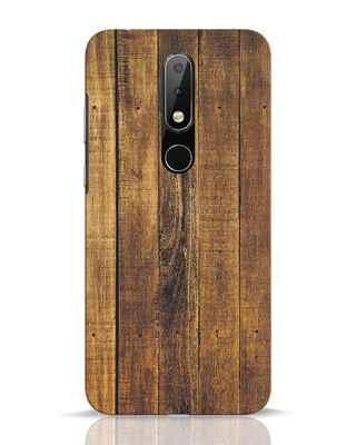 Shop Teak Nokia 6.1 Plus Mobile Cover-Front