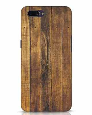 Shop Teak Oppo A3S Mobile Cover-Front