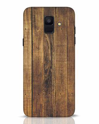 Shop Teak Samsung Galaxy A6 2018 Mobile Cover-Front