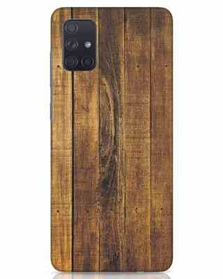 Shop Teak Samsung Galaxy A71 Mobile Cover-Front