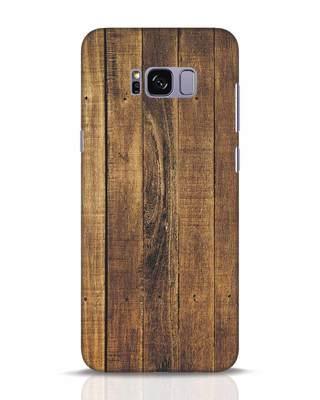 Shop Teak Samsung Galaxy S8 Plus Mobile Cover-Front