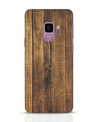 Shop Teak Samsung Galaxy S9 Mobile Cover-Front