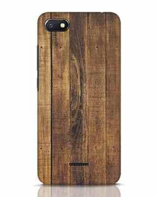 Shop Teak Xiaomi Redmi 6A Mobile Cover-Front