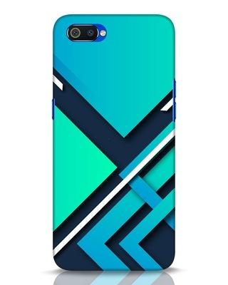 Shop Teal Block Realme C2 Mobile Cover-Front