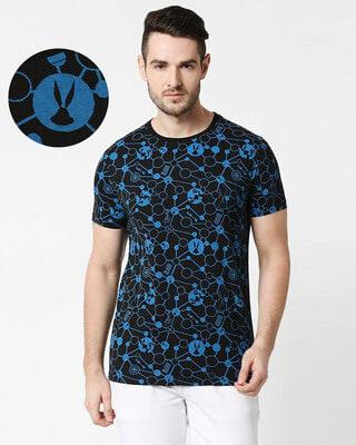 Shop Tech Bunny (LTL) Half Sleeve AOP T-Shirt-Front