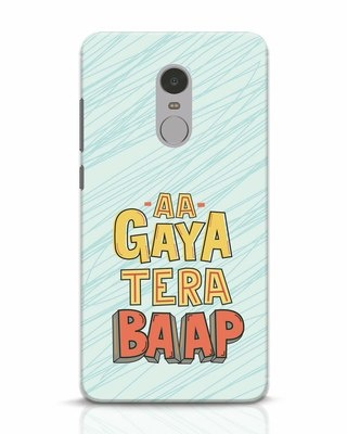 Shop Tera Baap Xiaomi Redmi Note 4 Mobile Cover-Front