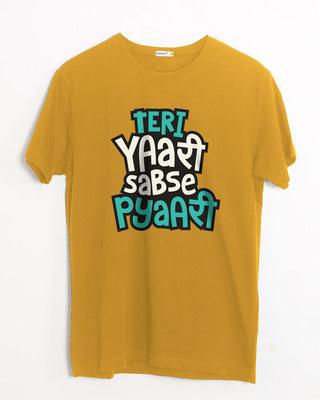 Shop Teri Yaari Half Sleeve T-Shirt-Front
