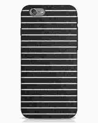 Shop Textured Stripes iPhone 6 Mobile Cover-Front