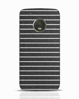 Shop Textured Stripes Moto G5 Plus Mobile Cover-Front