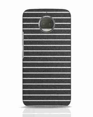 Shop Textured Stripes Moto G5s Plus Mobile Cover-Front
