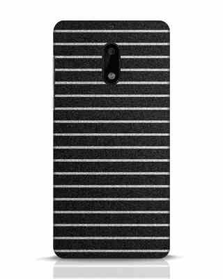 Shop Textured Stripes Nokia 6 Mobile Cover-Front