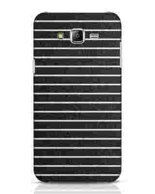 Shop Textured Stripes Samsung Galaxy J7 Mobile Cover-Front