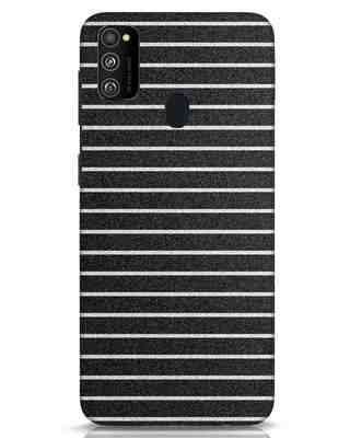 Shop Textured Stripes Samsung Galaxy M30s Mobile Cover-Front