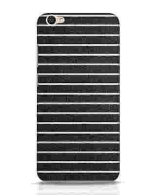 Shop Textured Stripes Vivo V5 Mobile Cover-Front