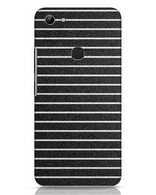Shop Textured Stripes Vivo Y81 Mobile Cover-Front