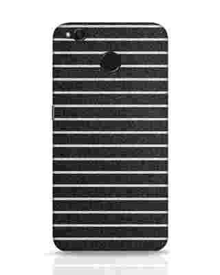 Shop Textured Stripes Xiaomi Redmi 4 Mobile Cover-Front